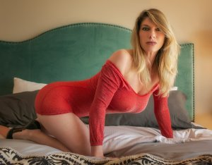 Sandrine live escorts in Coolidge & happy ending massage